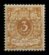 D-REICH KRONE ADLER Nr 45ca Ungebraucht Gepr. X727012 - Allemagne