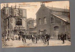 Valentigney (25 Doubs)  La Sortie Des Usines Peugeot Freres (voyagé 1914 ) (PPP4814) - Valentigney