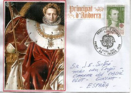 ANDORRA. Napoleon 1 Er (Décret Impérial Du 27 Mars 1806) Napoléon Accepte De Devenir Coprince D'Andorre. FDC - Napoléon