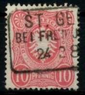 D-REICH KRONE ADLER Nr 41a Gestempelt X7271CA - Allemagne