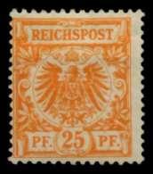 D-REICH KRONE ADLER Nr 49b Ungebraucht Gepr. X726F0E - Allemagne