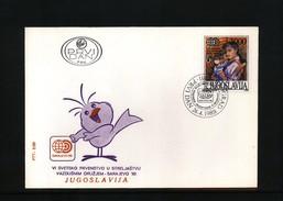 Jugoslawien / Yugoslavia 1989 Michel 2339 FDC - Cartas