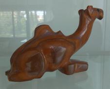 UNIQUE CAMEL FIGURINE STATUE MINIATURE HAND MADE MARBLE BERBER ART IN MOROCCO Weight 308 Gram,15x9 Cm - Art Africain