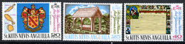 1969 - ST. CHRISTOPHER, NEVIS & ANGUILLA  - Mi. Nr. 192/194 - NH - (CW2427.38) - St.Kitts E Nevis ( 1983-...)