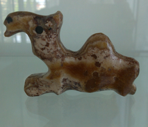 UNIQUE CAMEL FIGURINE STATUE ANIMAL MINIATURE HAND MADE MARBLE, BERBER ART IN MOROCCO Weight 57 Gram,7x5 Cm - African Art