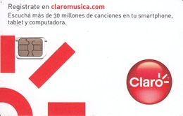 ARGENTINA - Claro White Card GSM, Mint