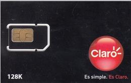 ARGENTINA - Claro Black Card GSM, Mint