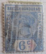 British Honduras 1891  (o)   # 42 - British Honduras (...-1970)