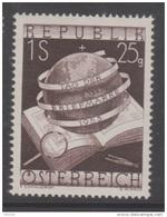 """Österreich 1953:  """"Tag Der Briefmarke""""  Postfrisch  (siehe Foto/Scan) - 1945-.... 2ª República"""