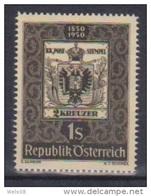 """Österreich 1950: """" Tag Der Briefmarke"""" Postfrisch (siehe Foto/Scan) - 1945-.... 2. Republik"""