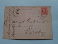 Bruxelles > Godesberg ( Carte Postale ) Anno 1883 ( Zie Foto's ) ! - België