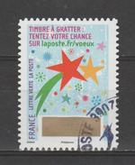 """FRANCE / 2016 / Y&T N° AA 1339 : """"Voeux à Gratter"""" (Etoiles) - Choisi - Cachet Rond - Frankreich"""