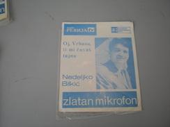 Nedeljko Bilkic Oj Vrbasu Ti Mi Cuvas Tajnu PGP Zlatan Mikrofon - Country & Folk