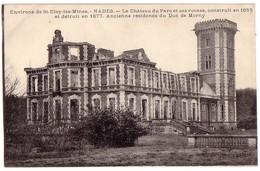 NADES (environs De St-Eloi-les-Mines): Le Château Du Parc Et Ses Ruines - Saint Eloy Les Mines