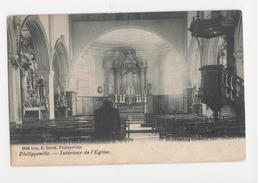 Philippeville -  Intérieur De L' Eglise - Impr. E. Burck - Circulé - Philippeville