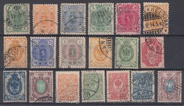 Alt-Finnland Lot 19 Marken Gestempelt Ansehen !!!!!!!!!! - Briefmarken