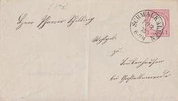 DR GS-Umschlag 1 Gr. K1 Schmalkalden 11.3.75 - Deutschland