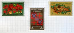 1971 - ST. KITTS, NEVIS & ANGUILLA  - Mi. Nr. 234/240 - NH - (CW2427.39) - St.Kitts E Nevis ( 1983-...)
