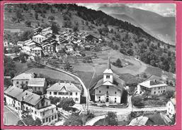 Saint Bon - L'Eglise Et Le Village Du Haut La Colonie C.F.M.C Cachet Pointillé St Bon Tarentaise Au Dos - Other Municipalities