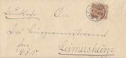 DR Brief EF Minr.45 Worms 15.4.99 Gel. Nach Leimersheim - Briefe U. Dokumente