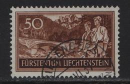 1937 FL Nr. 125/155 Franzenbrücke O Triesenberg