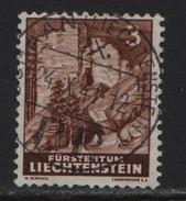 1937 FL Nr. 126/156 Ruine Schalun Voll O Schaan 24.10.1941