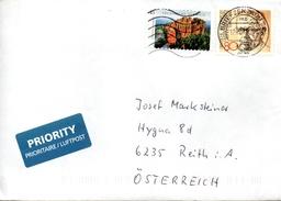 Auslands - Brief  Von Briefzentrum 04 Mit 125 Cent Mischfrankatur 2017 - BRD