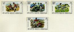 1971 - ST. KITTS, NEVIS & ANGUILLA  - Mi. Nr. 237/240 - NH - (CW2427.39) - St.Kitts E Nevis ( 1983-...)