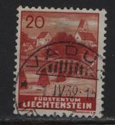 1937 FL Nr. 130/160 Bendern O Vaduz 1.4.39