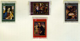 1972 - ST. CHRISTOPHER, NEVIS & ANGUILLA  - Mi. Nr. 245/248 - NH - (CW2427.39) - St.Kitts E Nevis ( 1983-...)