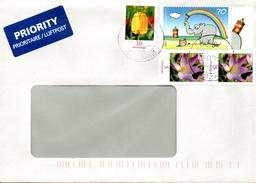 Auslands - Brief Von 79589 Binzen Mit 90 Cent Mischfrankatur 2017 - BRD