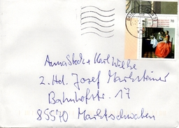 Brief Von Briefzentrum 72 Mit 70 Cent Jan Van Der Delft Eckrandstück 2017 - BRD