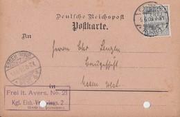 DR Ortskarte Dienst EF Minr.D1 Essen 9.6.03 - Dienstpost