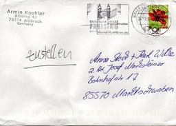 Brief Von Briefzentrum 80 Mit 70 Cent 2017 Werbestempel Freising - BRD