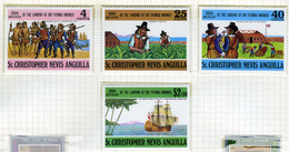 1973 - ST. CHRISTOPHER, NEVIS & ANGUILLA  - Mi. Nr. 251/254 - NH - (CW2427.39) - St.Kitts E Nevis ( 1983-...)