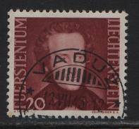1943 FL Nr. 178/214 Fürst Alois II O Vaduz 12.7.45