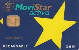SPAIN - Yellow Star MOVISTAR Full-Size GSM, Mint