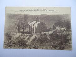 CPSM 39 - AUTOUR DE SAINT-LUPICIN CHAPELLE DE SAINT-ROMAIN-DE-ROCHE - Autres Communes