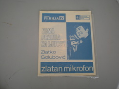 Zlatko Golubovic Nema Pravila Za Ljubav Radio Tv Revija - Country & Folk