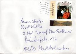 Brief Von Briefzentrum 72 Mit 70 Cent Jan Van Der Delft 2017 - BRD