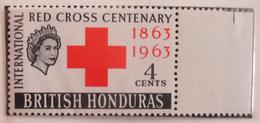 British Honduras 1963  MNH**  # 180/181 - Honduras Britannique (...-1970)