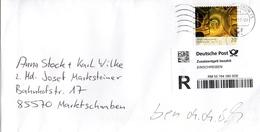 Rekobrief Von Briefzentrum 75 Mit 70 Cent Blüte Odermennig 2017 - BRD