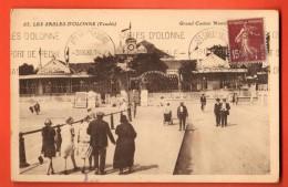 IBQ-07  Les Sables D'Olonne  Grand Casino.  Cachet Frontal - Sables D'Olonne