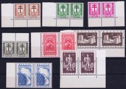 Belgium: OBP Nr 900 - 907 MNH/**/postfrisch/ Neuf Sans Charniere 1952 - Belgium