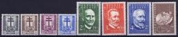 Belgium: OBP Nr 930 - 937 MNH/**/postfrisch/ Neuf Sans Charniere 1953 - Belgium