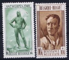 Belgium: OBP Nr 785 - 786  MNH/**/postfrisch/ Neuf Sans Charniere 1948 - België
