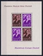 Belgium: OBP Block Nr 7  MNH/**/postfrisch/ Neuf Sans Charniere  1937  Mi Block Nr 6 - Blocchi 1924 – 1960