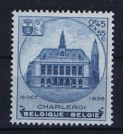 Belgium: OBP 437 MNH/**/postfrisch/ Neuf Sans Charniere  1936  TBC - Belgique