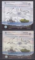 Uruguay 1995 Antarctic Base Artigas M/s Perforated + IMPERFORATED ** Mnh (30993) - Uruguay