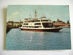 Romanshorn   Zurich Switzerland Ship Bateau   POSTCARD  USED  NAVE  PIROSCAFO  BATEAUX    BATEAU - Chiatte, Barconi